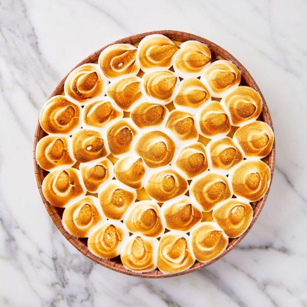 Lemon pie meringue – grote taart 6 a 8 personen